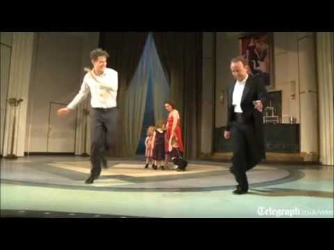 Learning To Tap Dance With Musical Star Tom Chambers
