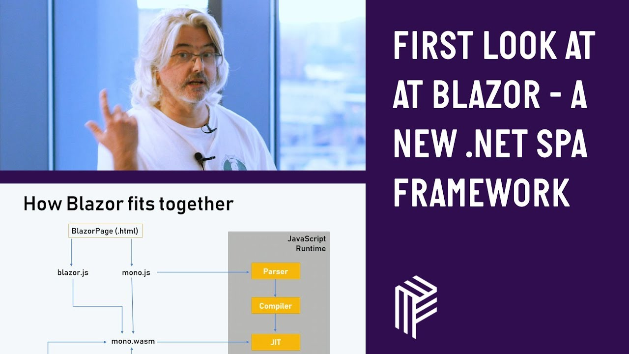 First Look at Blazor - A New  Net SPA Framework - Dot Net North - June 2018