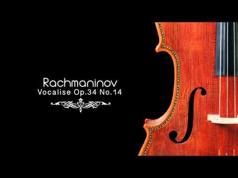 Sergei rachmaninoff songs op 34 vocalise no 14