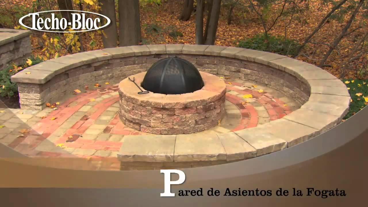 37 pared de asientos de la fogata youtube for Asadores de piedra para jardin