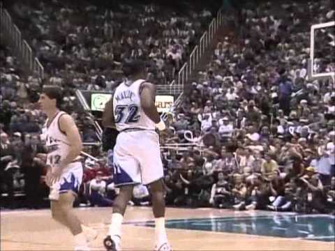 Karl Malone: 1998 Finals Highlights Game 6 (31 points, Bulls win 6th Championship)