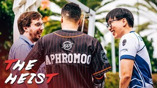 THE LONG AWAITED NALCS FINALS REMATCH | The Heist: Step 12 (100T VS TL + CLG)