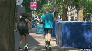 Pearl District has concerns on e-scooter return