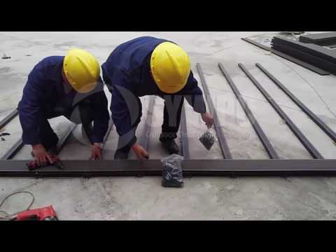 Installation video of WPC decking