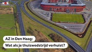 AZ speelt in Den Haag, bekijk de beelden van de volksverhuizing