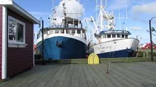 Fishing trawlers in from the storm Halifax harbor (1of2)
