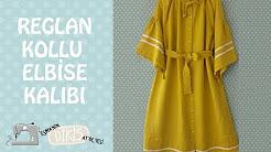 Reglan Kollu Elbise Kalıbı (patron hediyeli)/Esma'nın Dikiş Atölyesi