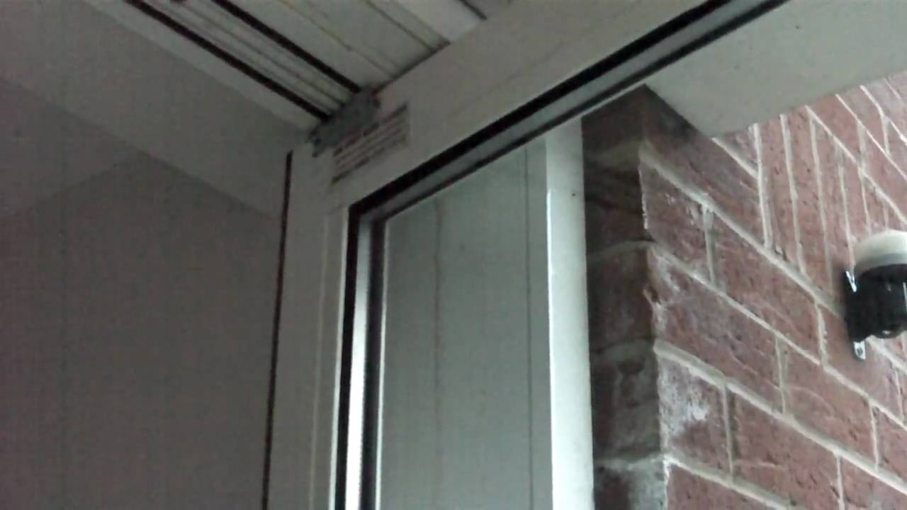 Completed Work On Commercial Aluminium Door Youtube