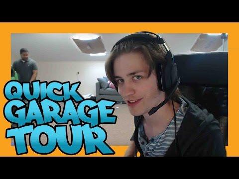 Quick Gaming Room/Garage Tour! (work in progress)