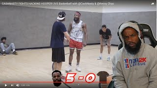 ME AND ANOTHER HOOPER GOT INTO IT ON THE COURT! 3vs3 Basketball