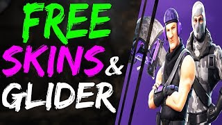 Fortnite Battle Royale HOW TO GET 2 NEW FREE SKINS and NEW GLIDER Season 3