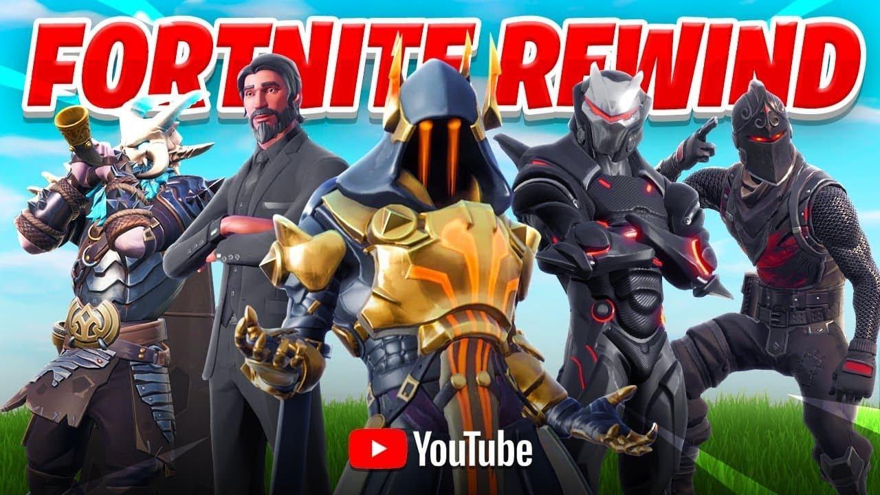 fortnite rewind 2018 - youtube video fortnite