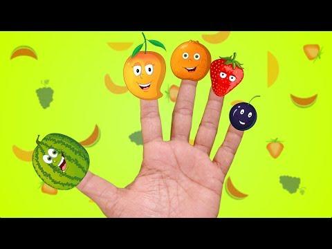 Finger Family Fruits
