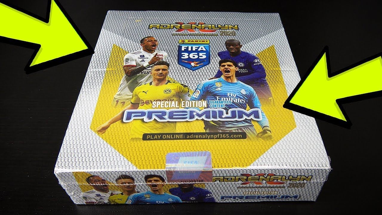 Panini Adrenalyn XL fifa 365 2019-10 Booster trading card