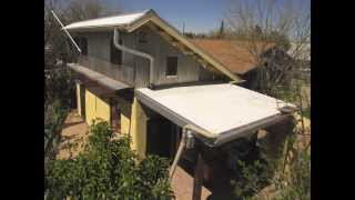 Sun- & Shade-Harvesting Roof Overhang and Awning
