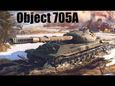 Patch 9.22 - Object 705A świetnie wygląda :)