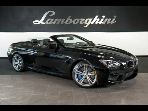 2014 bmw m6 convertible black sapphire metallic lt0683. Black Bedroom Furniture Sets. Home Design Ideas
