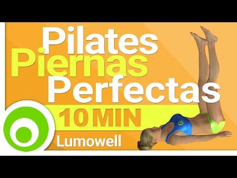 Pilates para Piernas Perfectas - Ejercicios en Casa
