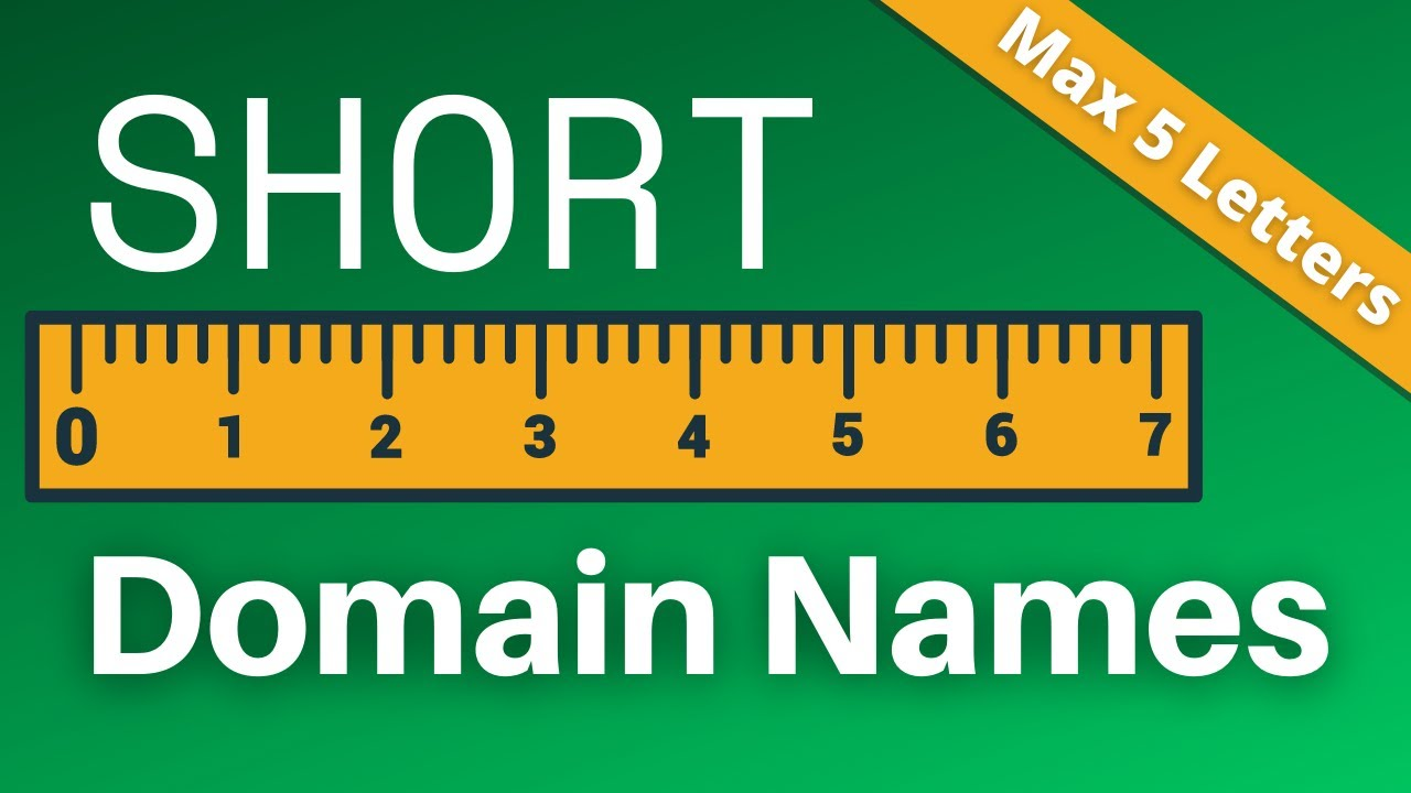 How to Easily Get a Rare Short Domain Name Right Now
