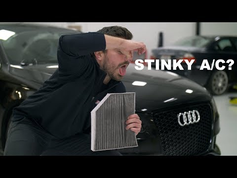 Audi Cabin Filter Replacement DIY (B8 A4) | Fix Your Stinky A/C!