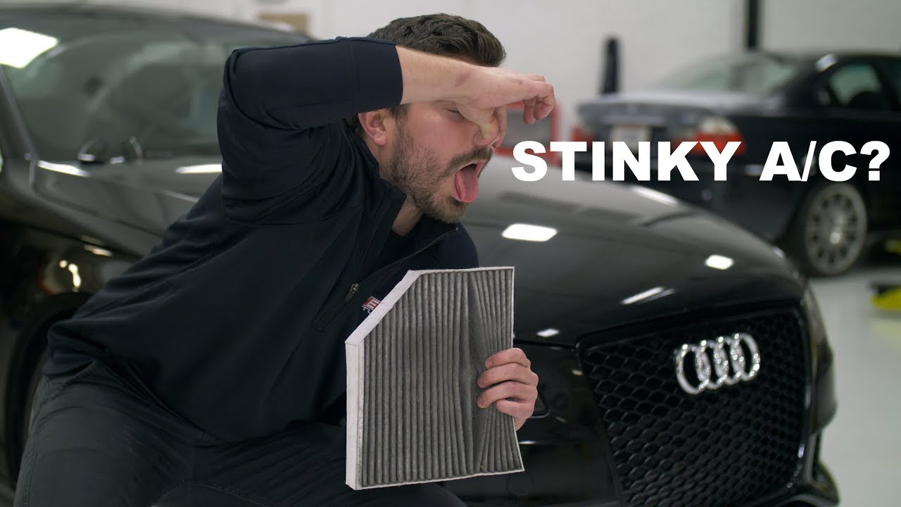 Audi Cabin Filter Replacement DIY (B8 A4)   Fix Your Stinky A/C!