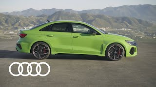 The Audi RS 3 models |Performance comes standard