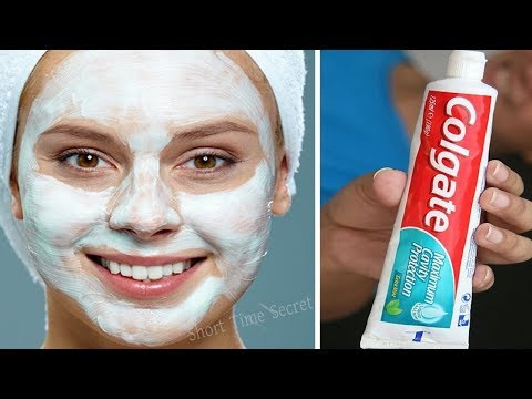 Toothpaste For Instant Skin Whitening   Apply Toothpaste on Your Darkspots and See the Magic