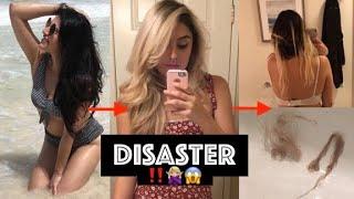 Why I'll Never go Blonde again🙅🏼♀️❌   Tragic bleaching experience  My Hair journey