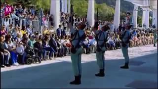 Semana Santa Málaga 2015, Traslado del Cristo de la Buena Muerte (Mena) Desembarco de la Legión thumbnail