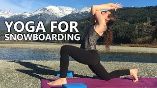 10 Minute Yoga for Snowboarding