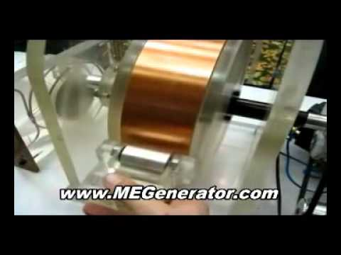 how to make power generator from magnets