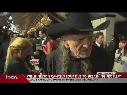 Willie Nelson cancels 2019 tour due to 'breathing problem'