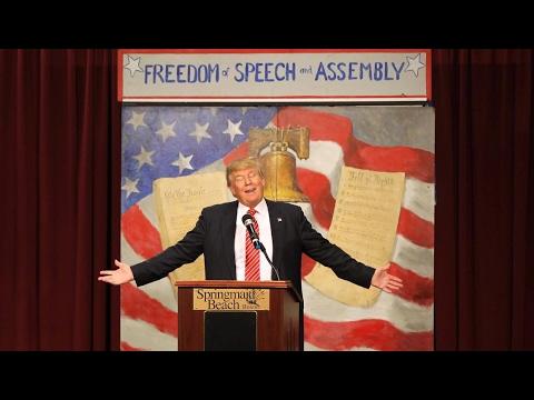 Donald Trump: Threat to 1st Amendment & Free Speech