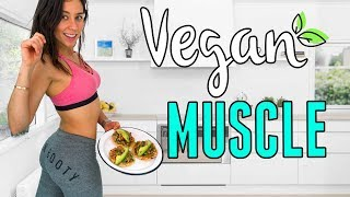 WHAT I EAT IN A DAY TO GAIN MUSCLE