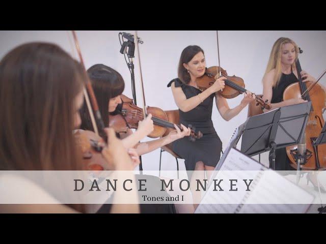 Dance Monkey | Tones and I| Bravo Music Events String Quartet