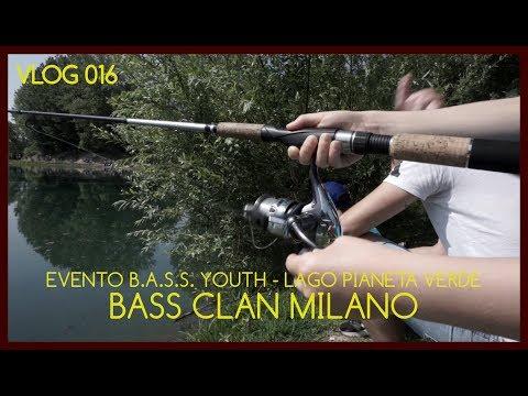 Evento BASS CLAN MILANO di pesca sportiva al lago Pianeta Verde