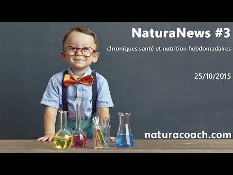 Naturanews #3 : viande végétale, antioxydants, sommeil, cholestérol et équilibre acido-basique
