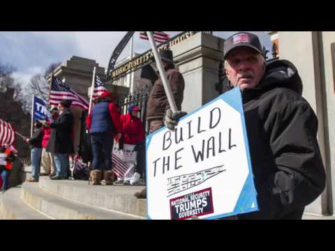March 4 Trump Massachusetts Rallies at the State House
