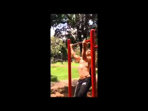 Fran Fiol ( Men's Health 2010 Cover) Workout Bogotá 2014
