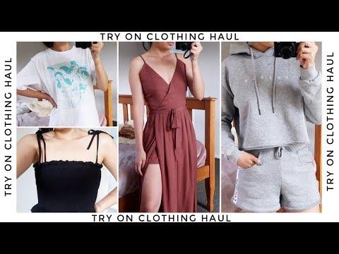 CLOTHING HAUL Feat  Lounge Underwear, Showpo, Yesstyle + Uniqlo!