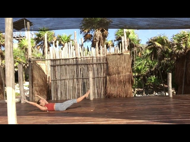 CORE + LOW BACK STABILITY SEQUENCE @ Papaya Playa Project, Tulum