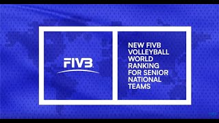 How Does The New FIVB World Ranking For Senior National Teams Work? | Volleyball World News