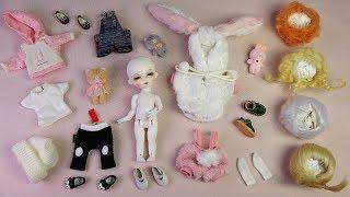 ★구체관절인형 쎄이렌 위피 자두 개봉기/가발,옷입히기★Ball Jointed Doll Sseiren Weepy JADU Unboxing/Doll dress up/BJD