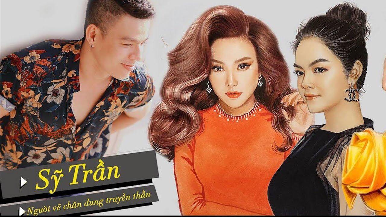 Hot boy vẽ chân dung Sơn Tùng M-TP, Minh Hằng sống động như thật