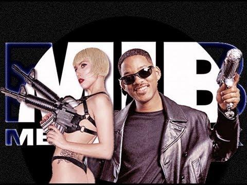 Lady Gaga & Justin Bieber as Aliens in MIB3