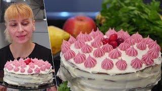 Бисквитный Торт на сковороде! Выручит вас на любой праздник!
