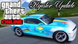 GTA 5 Online: New HIPSTER DLC Update! Crazy Cars & Guns? Heists DLC Delay? Grand Theft Auto V DLC