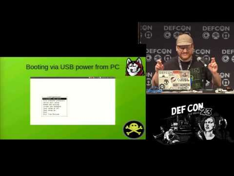 DEF CON 23 - Dr Phil Polstra - Hacker in the Wires