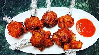 Dhaba style chicken lollipop // chicken lollipop // chicken wings fry