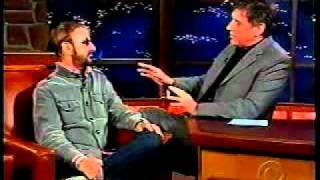 Ringo starr on craig furguson- latelate show- 2005 part 1